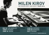 Between East and West feat. Boris Lipov - Milen Kirov - piano (USA)