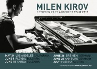 Between East and West feat. Boris Lipov - Milen Kirov - Klavier (USA)